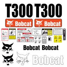 Bobcat T300 Skid Steer Set Vinyl Decal Sticker 25 Pc