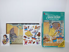Vintage 1993 Disney Snow White Colorforms