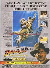 Indiana Jones And The Fate Of Atlantis US Gold 1993 Magazine Advert #7267