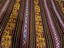 "New Large Reversible Manta IncaThrow  Blanket  Peruvian  53"" x 100"" Peru"
