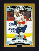 2019-20 UD OPC O-Pee-Chee Gold Border Glossy Marquee Rookie #548 Riley Stillman