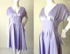 JAYSON BRUNSDON  Silk Dress Made in Australia Size 10 - 12 US 6 - 8 rrp $689.00