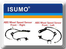 2 ABS Speed Sensor Front / Left & Right Fits: Toyota Sienna 2004-2010 AWD  FWD