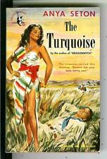THE TURQUOISE by Seton, Pocket #534 1st VARIANT gga cover pulp vintage pb