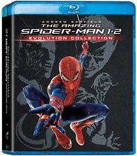 THE AMAZING SPIDER-MAN 1 + 2 BLU RAY EVOLUTION COLLECTION NUEVO ( SIN ABRIR )