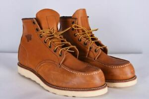 Red Wing Moc Toe Winter Leather Boots / Shoes Size UK 9.5/ EU 44/ US US10.5