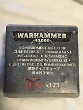 Bombardment Dice Cube-Sealed-125 Dice-Adeptus Mechanicus-Cult-OOP-Warhammer 40k