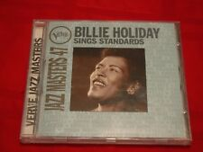 Billie Holiday Sings Standards Verve Jazz Masters 47 1995 CD Stormy Weather VG