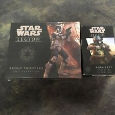 Star Wars: Legion - Boba Fett Operative plus Scout Troopers Unit Expan SWL18,19