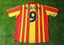 GALATASARAY # 9 HAKAN SUKUR 2000-2001 FOOTBALL SHIRT JERSEY HOME ADIDAS ORIGINAL