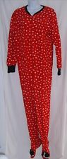Disney Size L Footed Mickey Mouse Pajamas