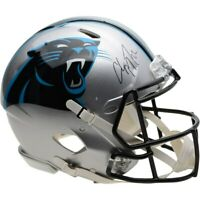 CHRISTIAN McCAFFREY Autographed Panthers Speed Authentic Helmet FANATICS