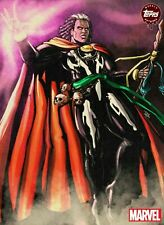 ORIGINAL ART DOCTOR VOODOO BY DOUG HILLS Topps Marvel Collect Digital Card