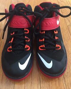 Nike Zoom LeBron Soldier 8 Boys' Preschool Basketball Shoes - 653646-006 Sz 12C