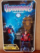 1987 Hasbro Visionaries Darkling Lord Lexor Action Figure MOC