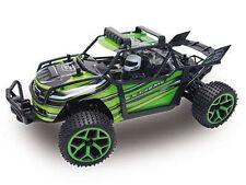 RC arena Buggy X-Knight 1:18 4wd proporcional gas incl. batería y cargador verde