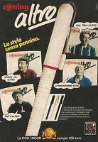 X7027 Penna stilografica Rotring - Pubblicità 1990 - Advertising