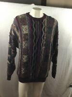 Coogi Cosby Biggie Style Sweater 3d Size Large