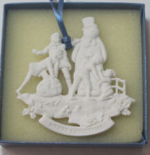 Rare Wedgwood Snowman Family Christmas Tree Ornament, *Boxed*, 3 avail.