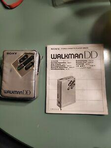 Sony Walkman WM DD, Kassettenspieler, cassette player, aus Nachlass, w. Manual