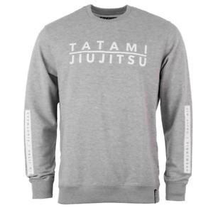 Tatami Rival Sweater Grey Jiu JItsu Jumper Tops BJJ Clothing Casual Wear