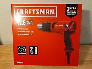 craftsman Heat  Gun  Corded, 12.5 AMP, Variable Tem ,model CMEE531