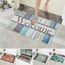 3D Printed Floor Mats 40x60cm Welcome Anti-Slip Soft Door Mat Carpet Area Rug