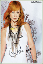 4x6 SIGNED AUTOGRAPH PHOTO REPRINT of Reba McEntire #TP