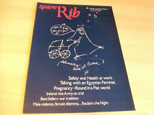 Spare Rib Women's Liberation Feminist Magazine Number 78 January 1979