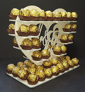 Mr & Mrs Ferrero Rocher Tree Wedding table special occaisions birthday party