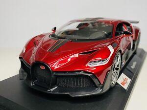 Maisto 1/18 Diecast Special Edition Bugatti Divo Red (SALE)