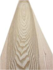 """Natural Ash Wood Veneer -  2600mm x 235mm  /  102'' x 9,2"""""""