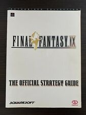 UNUSED Final Fantasy IX 9 Official Strategy Guide Book Piggyback Games
