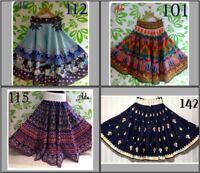 Skirt With Flare Ghagra Gown Designer Ethnic Vintage Pattern Dress Lehnga Ghagra