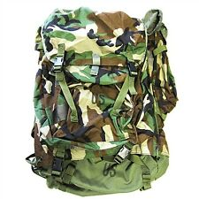 NIW US Militär GFP 90 Backpack Rucksack woodland mit Combat Patrol Pack Field