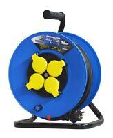 Rallonge Electrique 25 M. 3G2,5mm² - 4 Prises - Enrouleur -I-EE4D07-2525- 166014