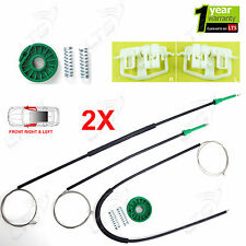2X FORD FIESTA ELECTRIC WINDOW REGULATOR REPAIR KIT FRONT LEFT AND RIGHT SIDE