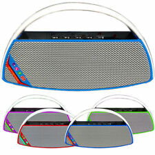 Cassa portatile bluetooth con fm slot micro sd usb in radio mp3 per pc vivavoce