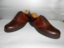 Men's Nunn Bush Brown Leather Dress Oxfords Size 12 D