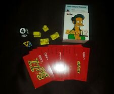 The Simpsons Scene It Game Replacement dice, character pieces, cards