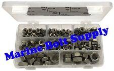 Stainless Steel Thin/Jam Nut Assortment Kit - Marine Bolt Supply 8-111014