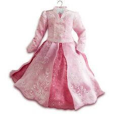 Disney Store AURORA Sleeping Beauty LIMITED EDITION Costume Girls Dress SIZE 5