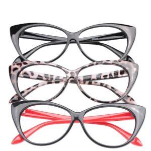 Glasses Reading Women Presbyopic Cat Eye Eyeglass Lady Cat Fashion Spectacles