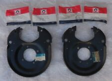 NOS 79 80 81 Trans Am rare 4 wheel disc brake REAR BACKING PLATES 1979 1980 1981