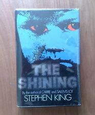STEPHEN KING THE SHINING TRUE 1st UK HARDBACK 1977 (NOT BCA OR RE-PRINT)