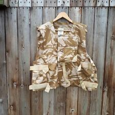 BRITISH DESERT DPM BODY ARMOUR COVER / FLAK JACKET / VEST 200/124 -  L XXL