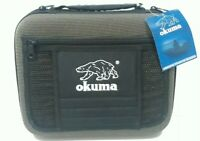 OKUMA Medium Fishing Binder Tackle Bag Case Accessory 10 Wormproof Pages Molded