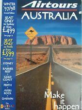 More details for airtours australia winter 97/98 brochure holidays travel magazine aeronautica