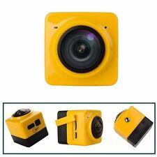 Mini Cube 360° Panoramic HD1080P WiFi Wireless Sport Action Video Camera Cam New