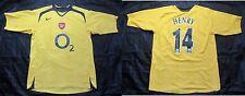 Thierry Henry #14 ARSENAL LONDON GUNNERS away Shirt NIKE 2005/2006 adult Size L
